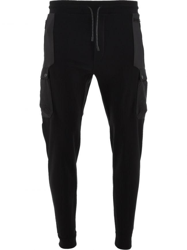 Black Technical Fabric Sweatpants