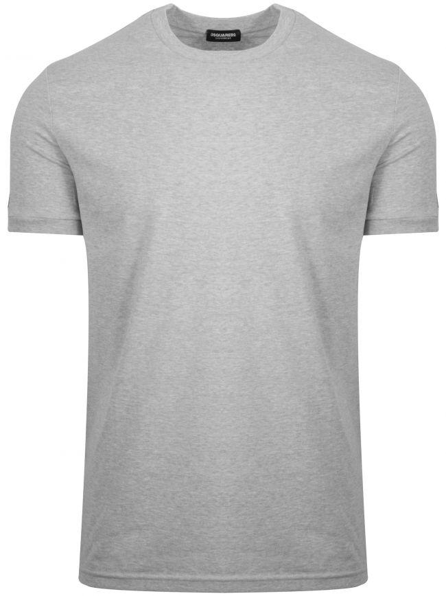 Grey Arm Logo Crew Neck T-Shirt