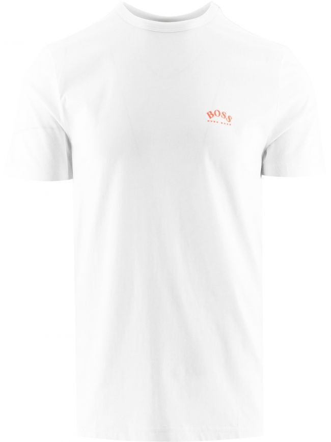 White Tee Curved T-Shirt