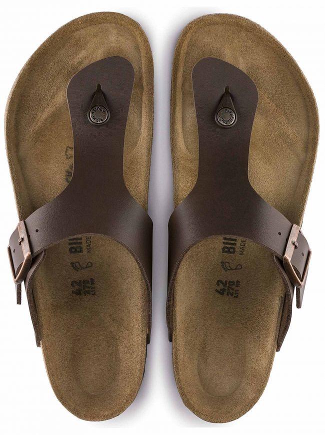 Dark Brown Ramses Leather Sandal