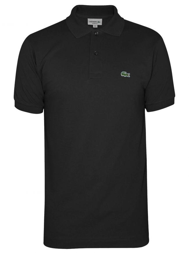 Classic L1212 Black Polo Shirt
