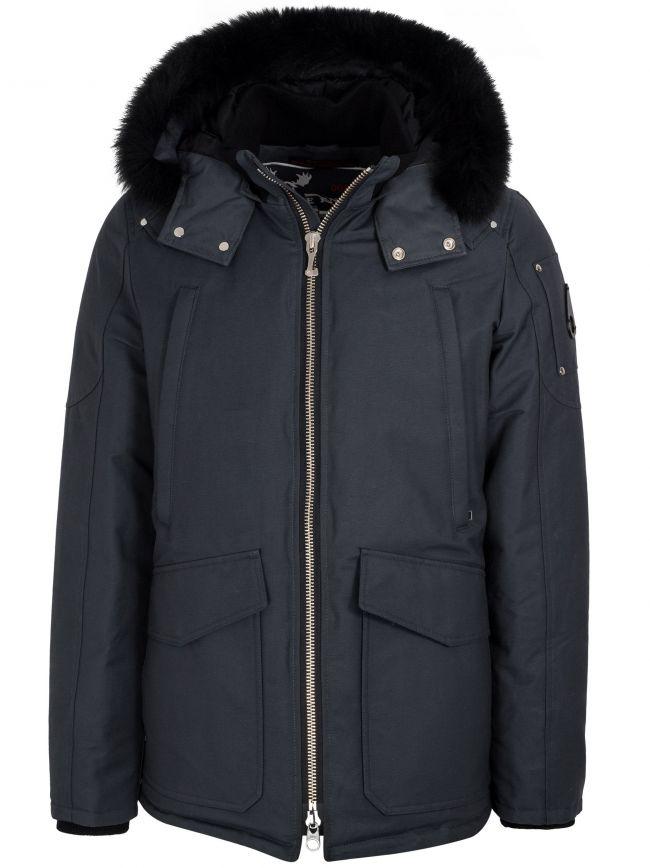 Granite Pearson Fur Hood Jacket