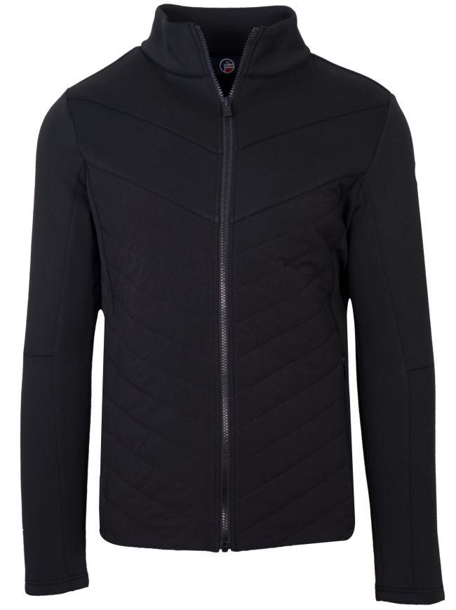 Black Vidi Mid Layer Jacket