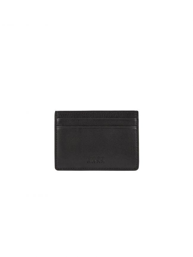 Black Leather Majestic Wallet
