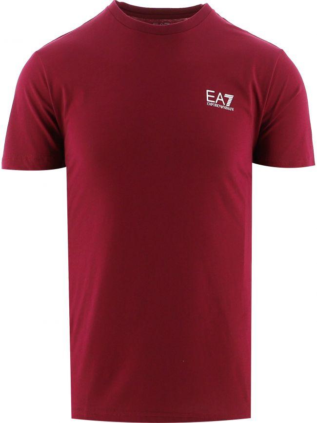 Red Short Sleeve Logo T-Shirt