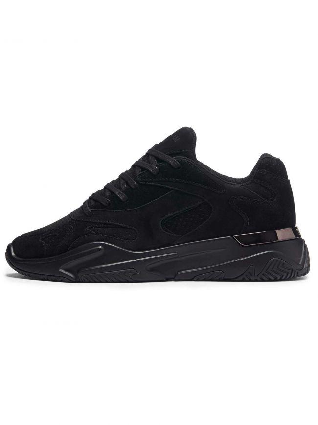 Midnight Black Suede Lurus Sneaker