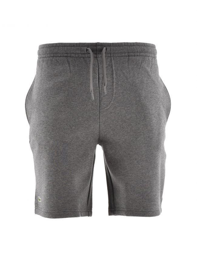 Grey Cotton Jersey Shorts