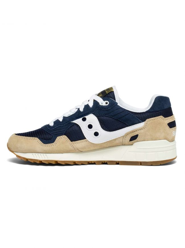 Tan & Navy Shadow 5000 Sneaker