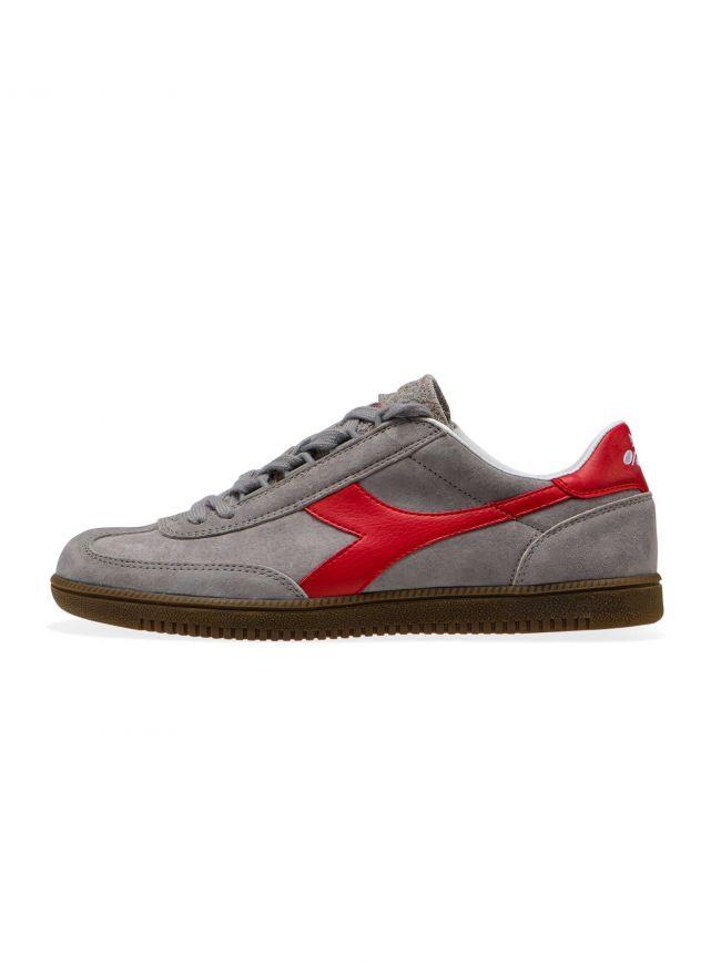 Grey Suede Aberdeen Sneaker