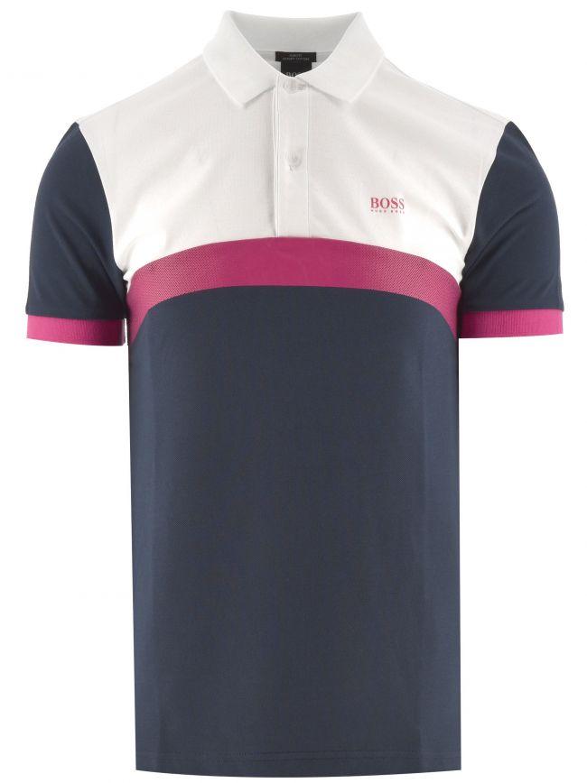 Navy Paule 3 Polo Shirt