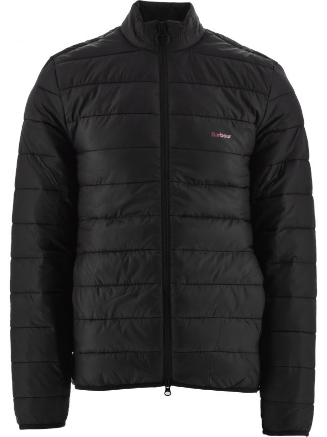 Black Penton Quilt Jacket