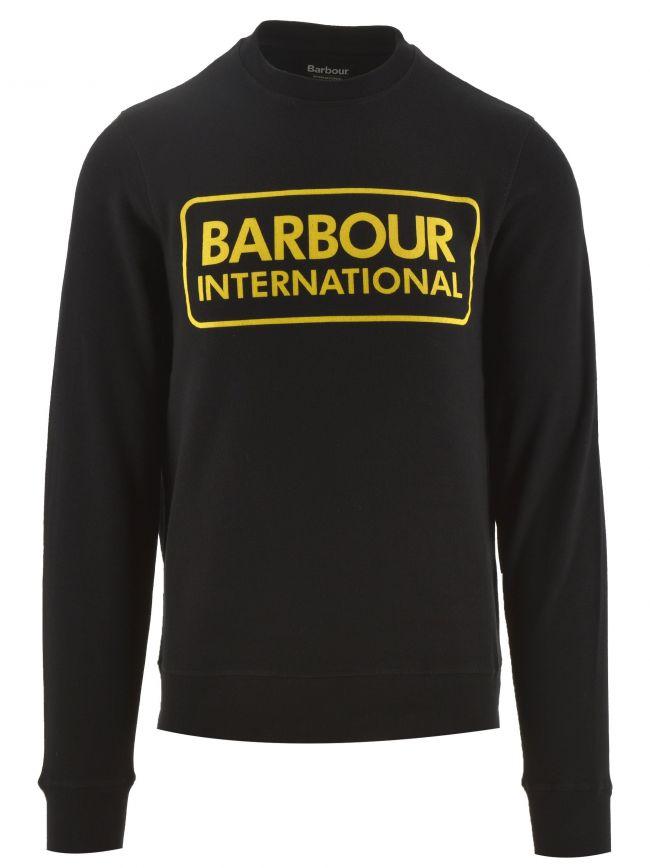 Black Large Logo Sweatshirt