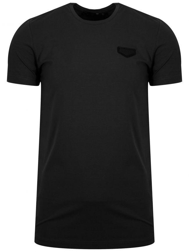 Black Patch Logo T-Shirt
