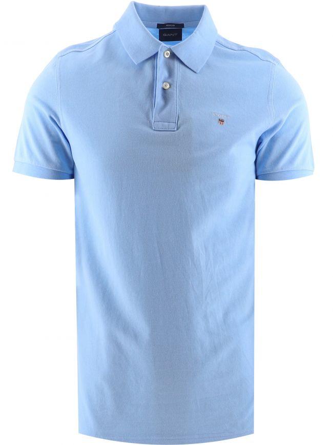 Capri Blue Classic Polo Shirt