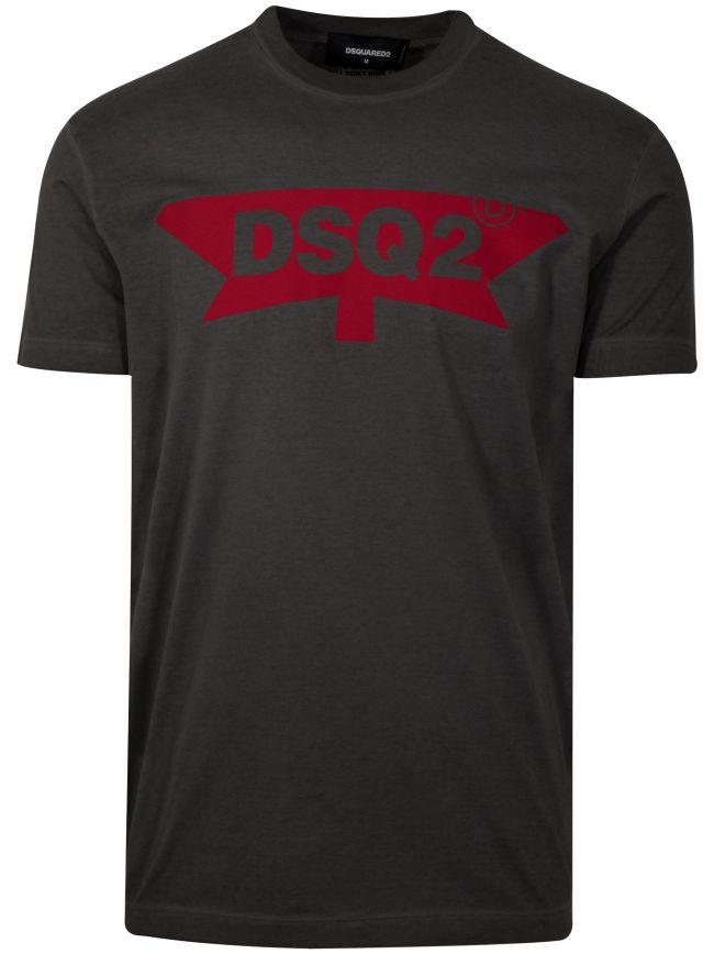 DSQ2 Maple Dark Grey T-Shirt