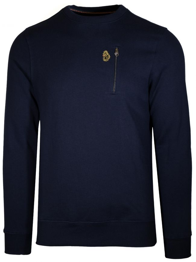 'Paris 2' Navy Sweatshirt