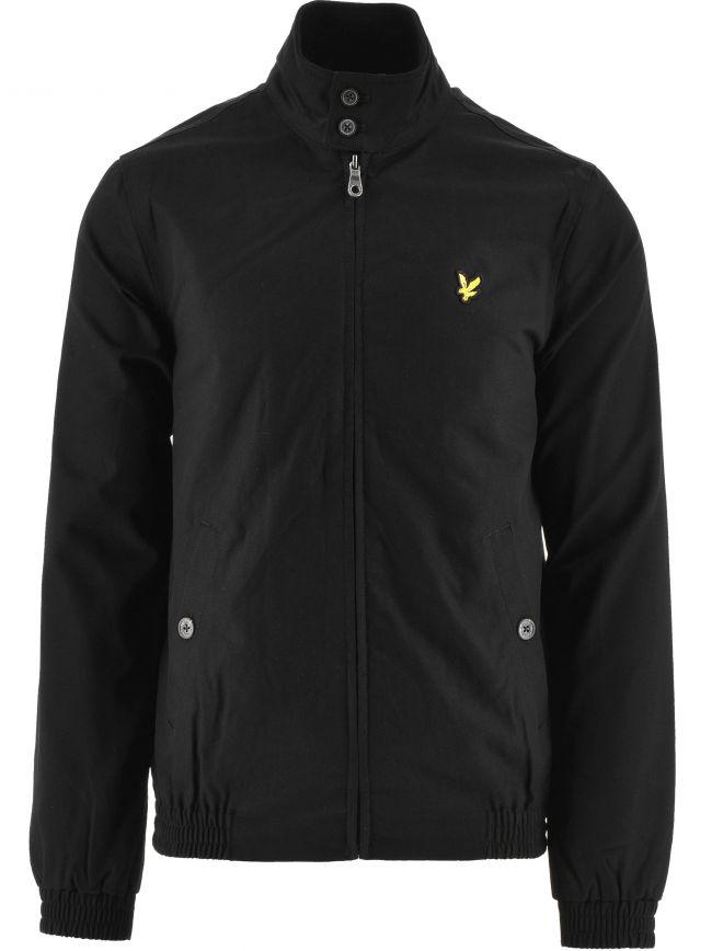 Jet Black Harrington Jacket