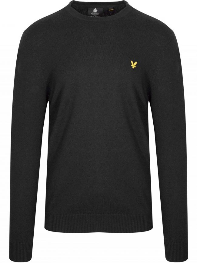 Black Merino Sweatshirt