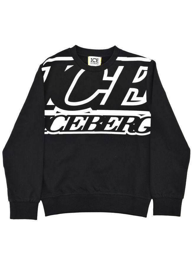 Iceberg Kids Black Sweatshirt