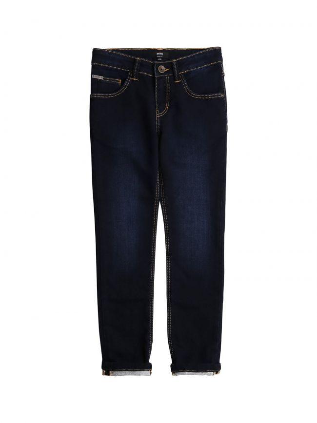 Dark Rinse Denim Skinny Jeans