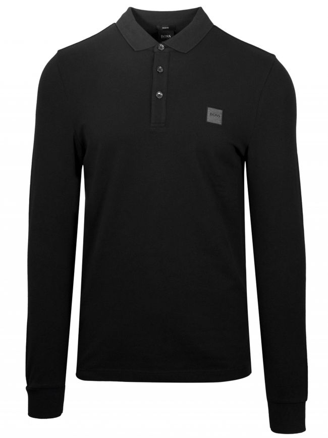 Black Passerby Polo Shirt