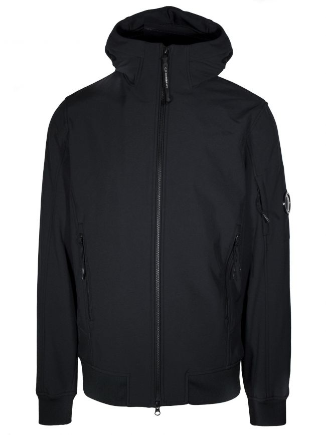 Black Soft Shell Lens Jacket