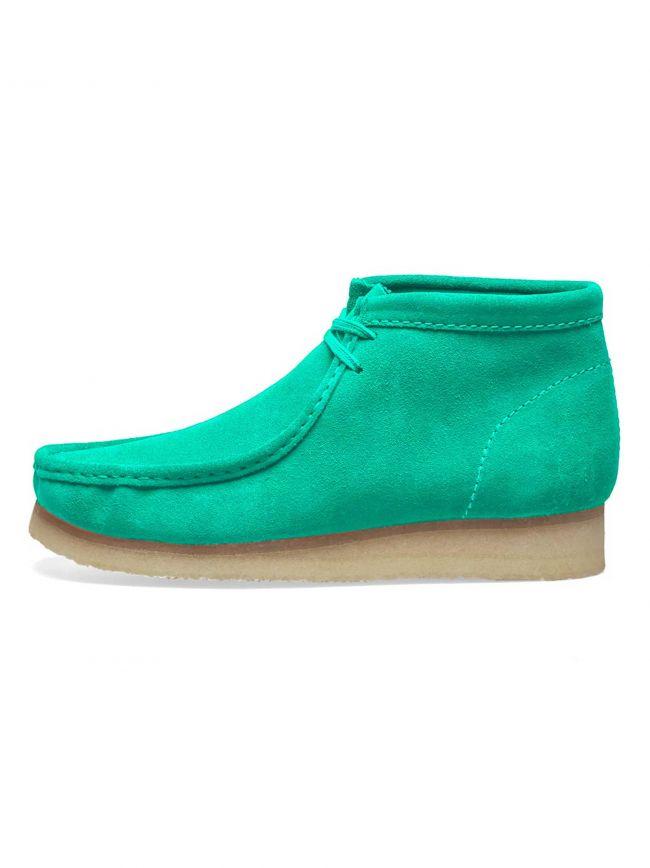 Spearmint Suede Wallabee Boot