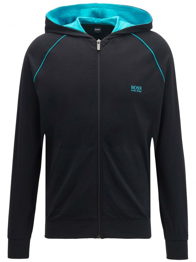 Black Mix & Match Hooded Sweatshirt