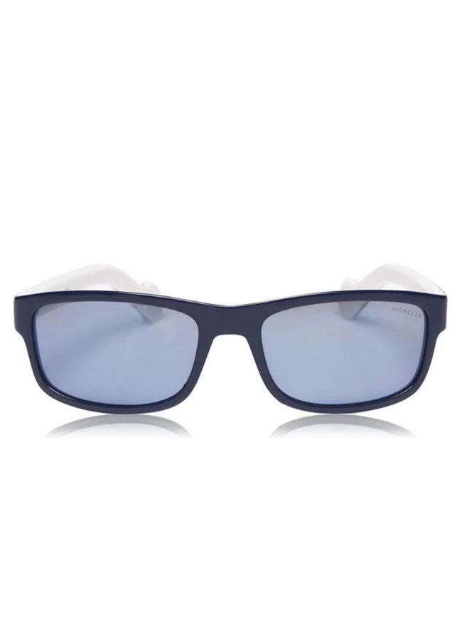 ML0114 Navy and White Sunglasses