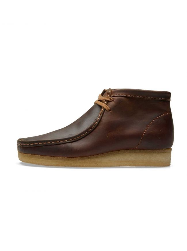 Beeswax Leather Wallabee Boot