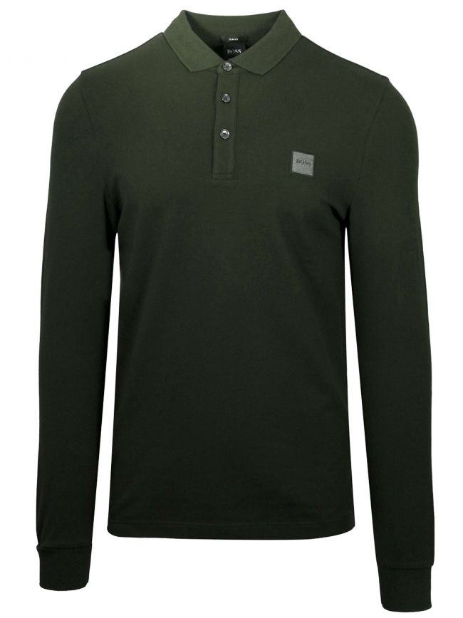 Open Green Passerby Polo Shirt