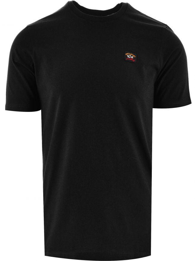 Black Heritage Logo Egyptian Cotton T-Shirt