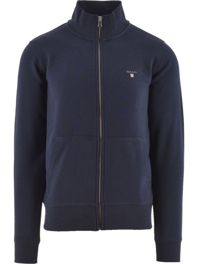 Blue Full Zip Jacket