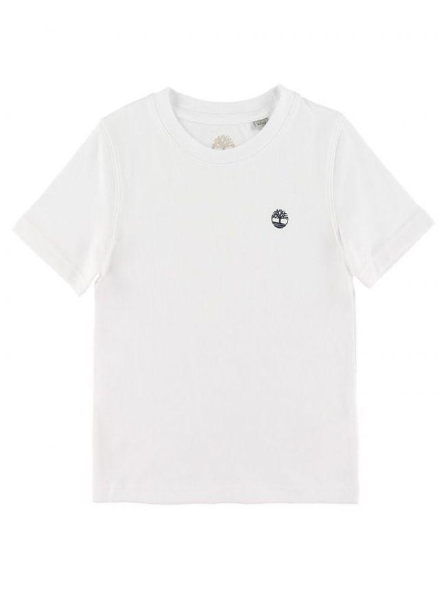 White Short Sleeve T Shirt