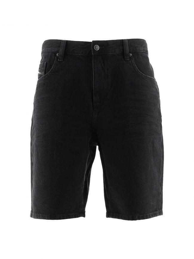 Black D-Strukt Shorts