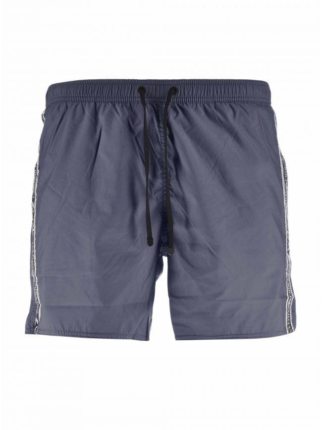 Navy Logo Swim Short