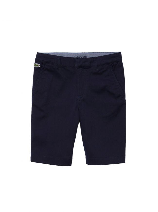 Lacoste Kids Navy Bermuda Shorts