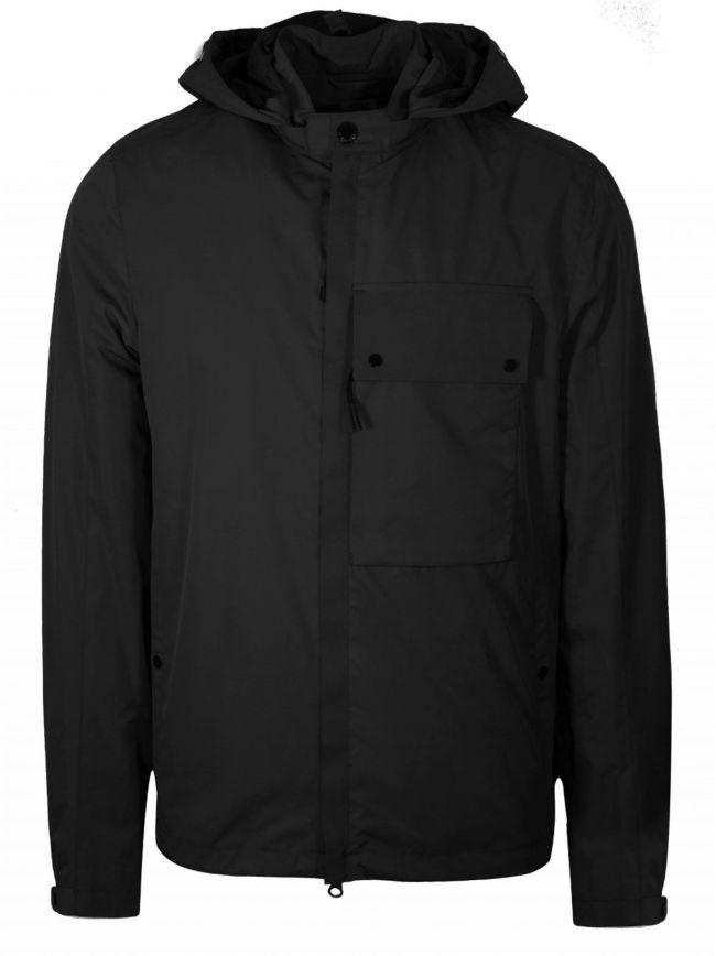Black Micro-M Waterproof Overshirt Jacket