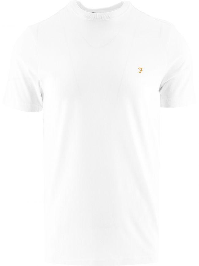 White Danny Short Sleeve T Shirt