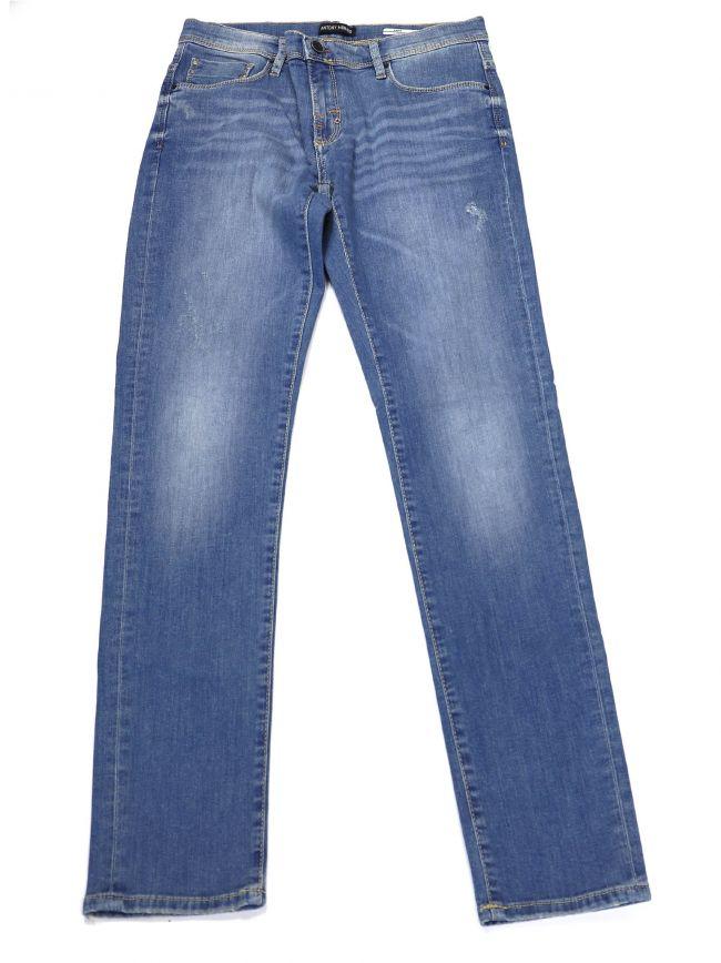 Antony Morato Kids Blue Keith Skinny Jean