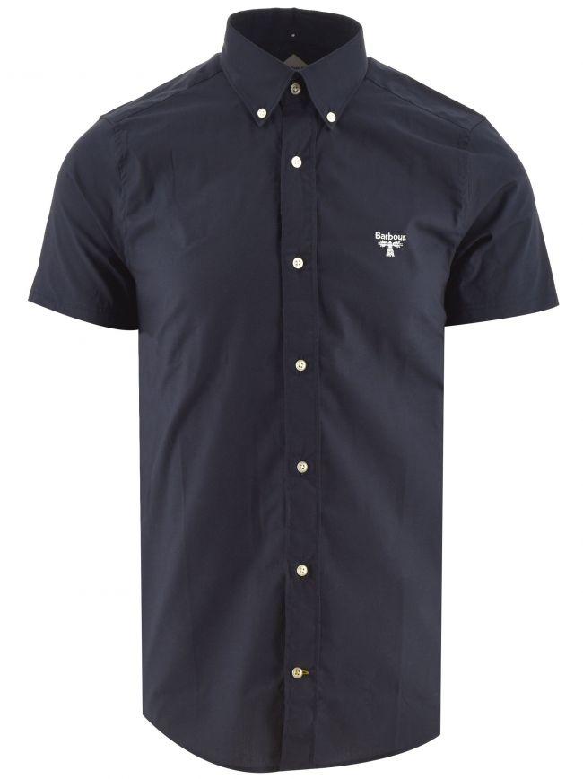 Navy Short Sleeve Seathwaite Shirt