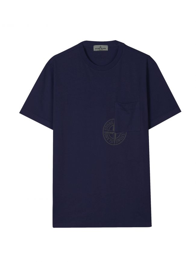 Navy Blue Pocket Logo T-Shirt