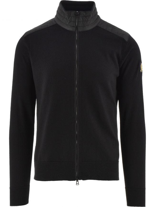 Black Kelby Zip Sweatshirt