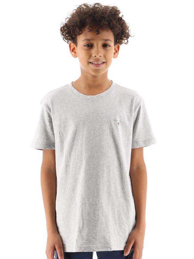 Light Grey 2-Pack Crew Neck T-Shirt