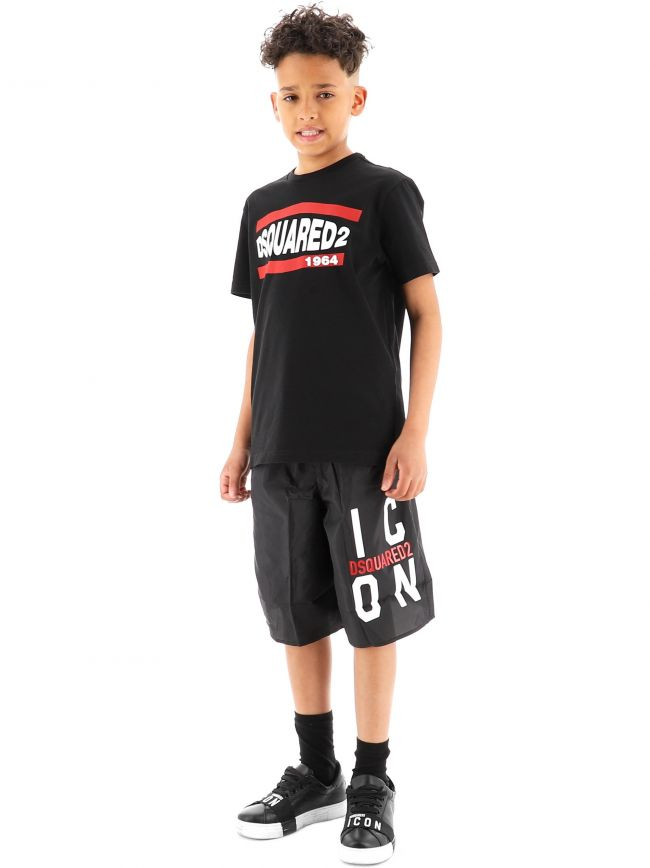 DSQUARED2 Kids Black Relax T-Shirt