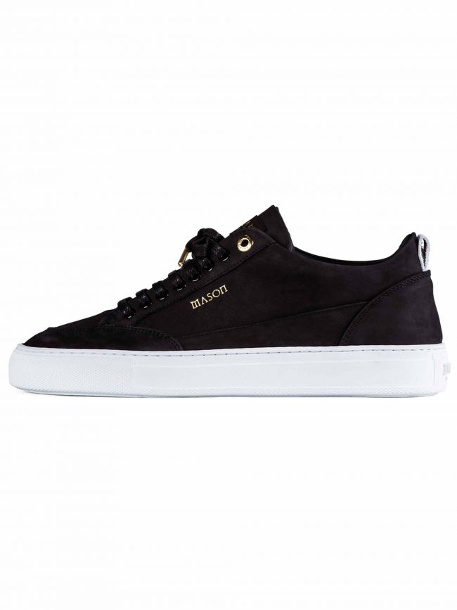 Black Tia Low Nubuck Sneaker