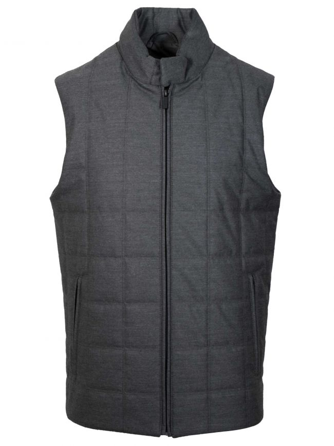 Grey Body Warmer