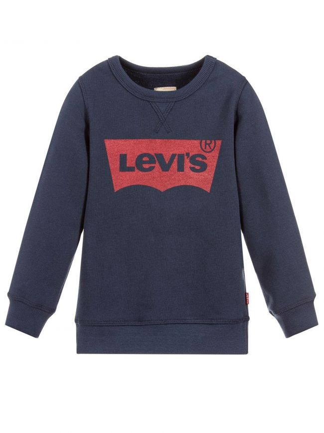 Navy Blue Batwing Sweatshirt