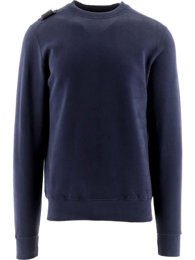 Navy Core Crew Neck Sweatshirt