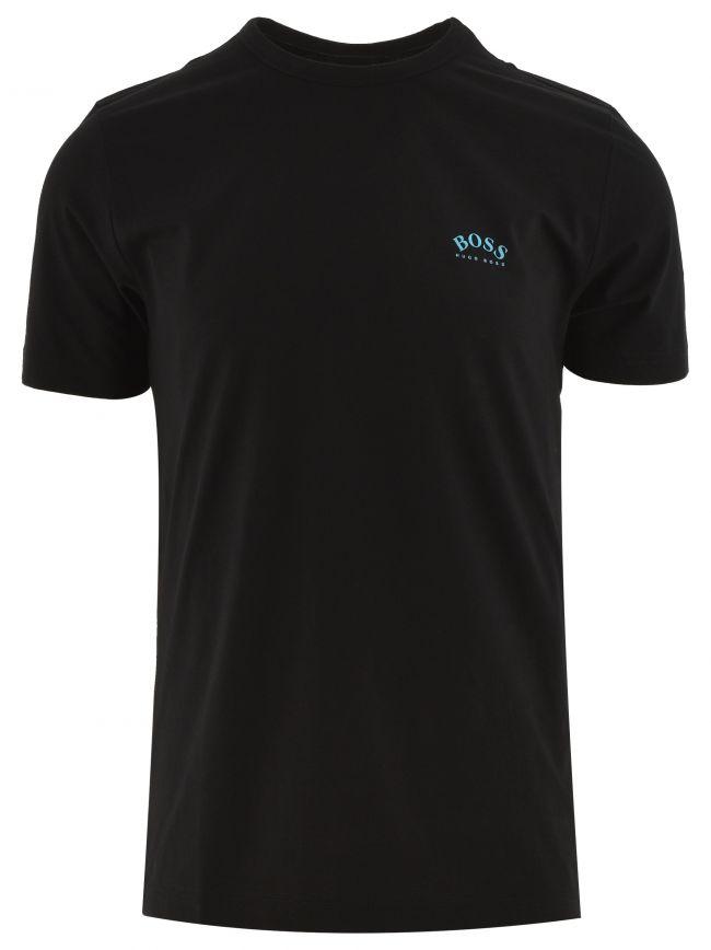 Black Tee Curved T Shirt